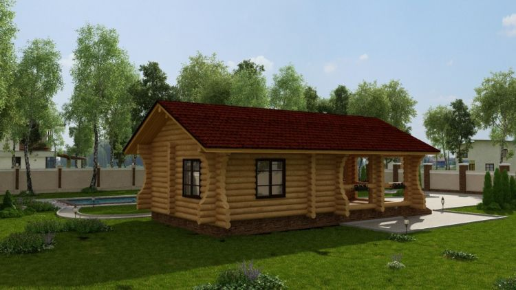 Баня с беседкой - преимущества бани с беседкой под одной крышей. Обзор проектов, этапы строительства. Лучшие идеи для реализации