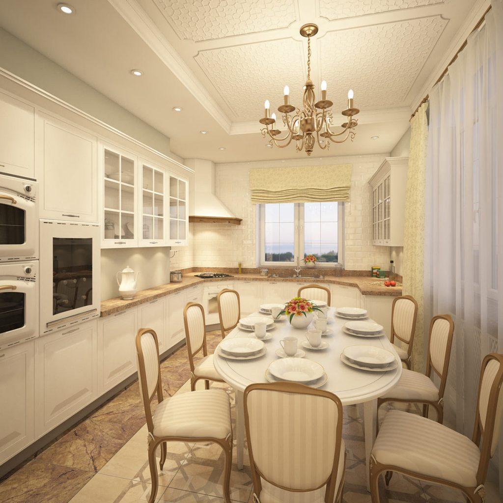 кухня с столовой вместе фото показываю рецепт