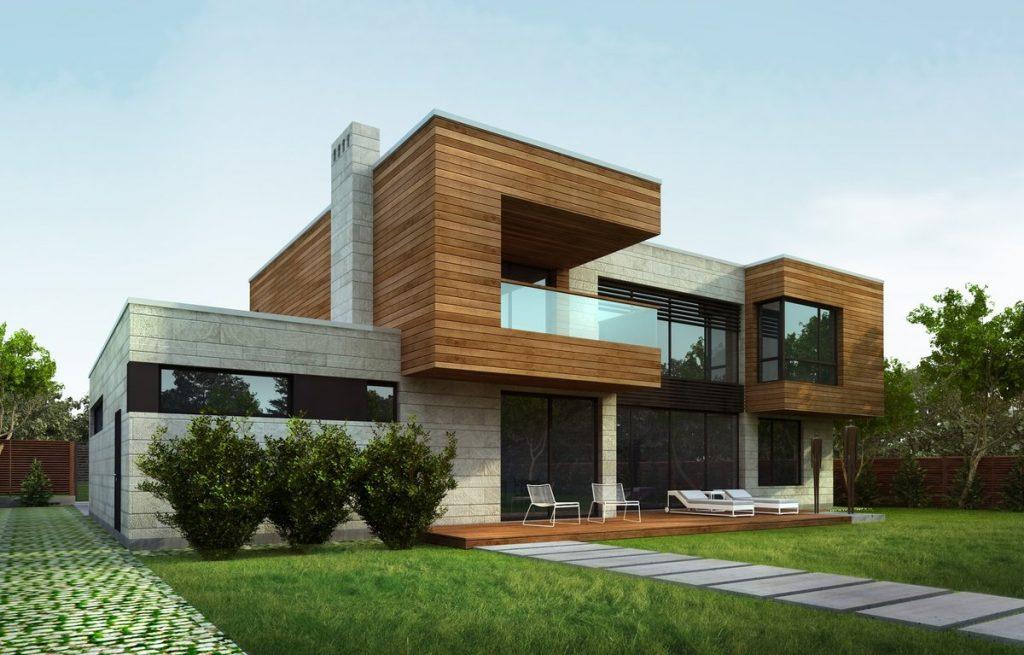 проекты домов в стиле хай тек картинки рысь