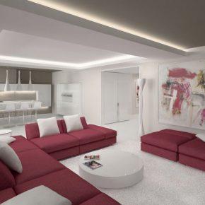 Гостиная в стиле минимализм: обзор идей, особенности стиля и правила применения аксессуаров (115 фото + видео)