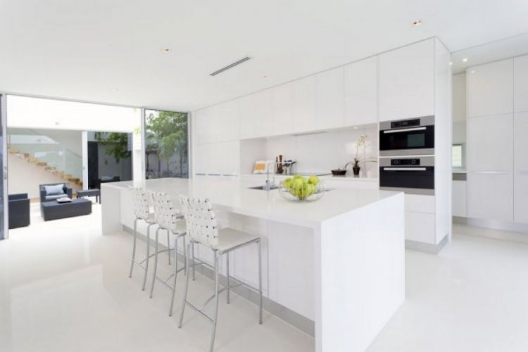 Кухня в стиле Хай-тек — 105 фото красивых вариантов интерьера, правила дизайна и интересные особенности стиля
