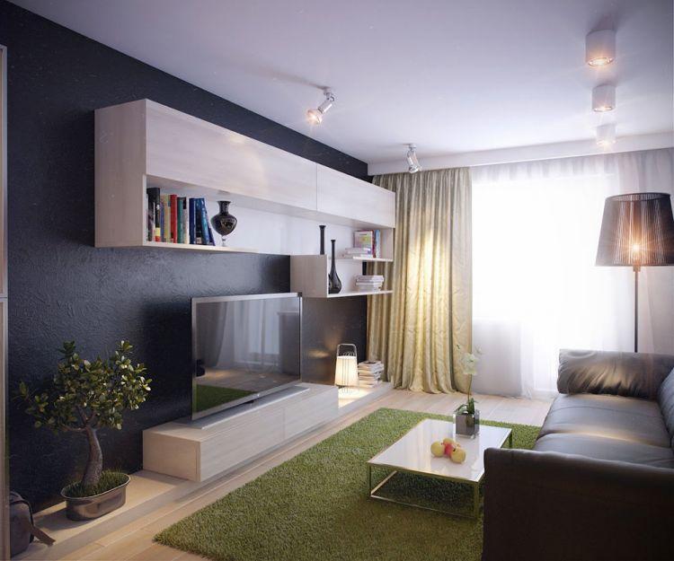 Маленькая гостиная интерьер уютного жилого пространства