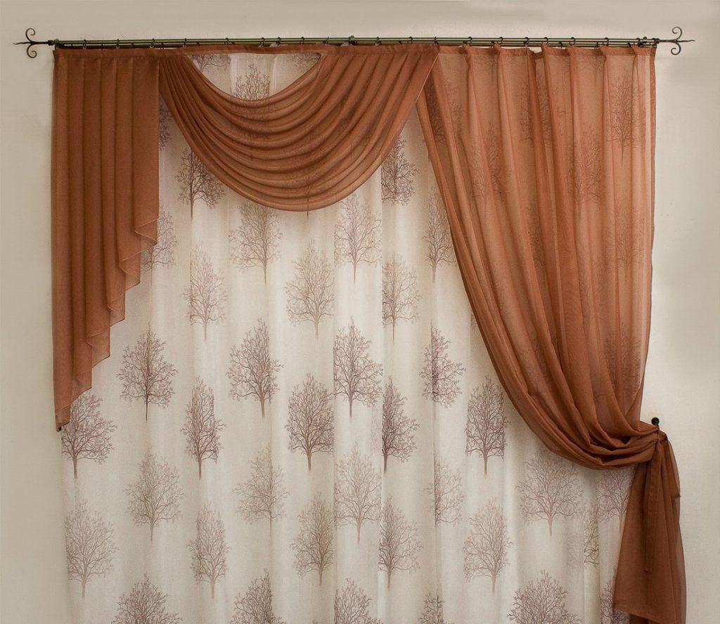 моделей фасоны штор на одну сторону фото был сделан спины