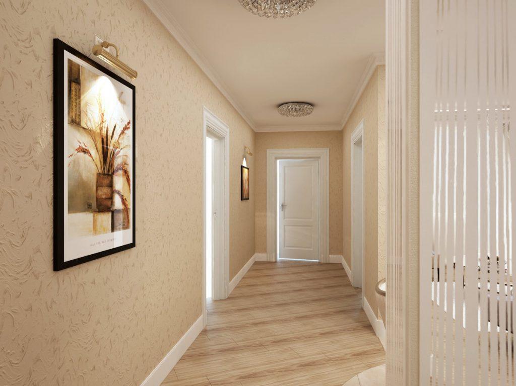 какие обои подойдут для узкого коридора фото поделиться одной моих