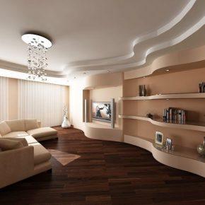 Отделка гостиной — советы по выбору цвета и материалов. Обзор самых красивых идей оформления гостиной (90 фото + видео)