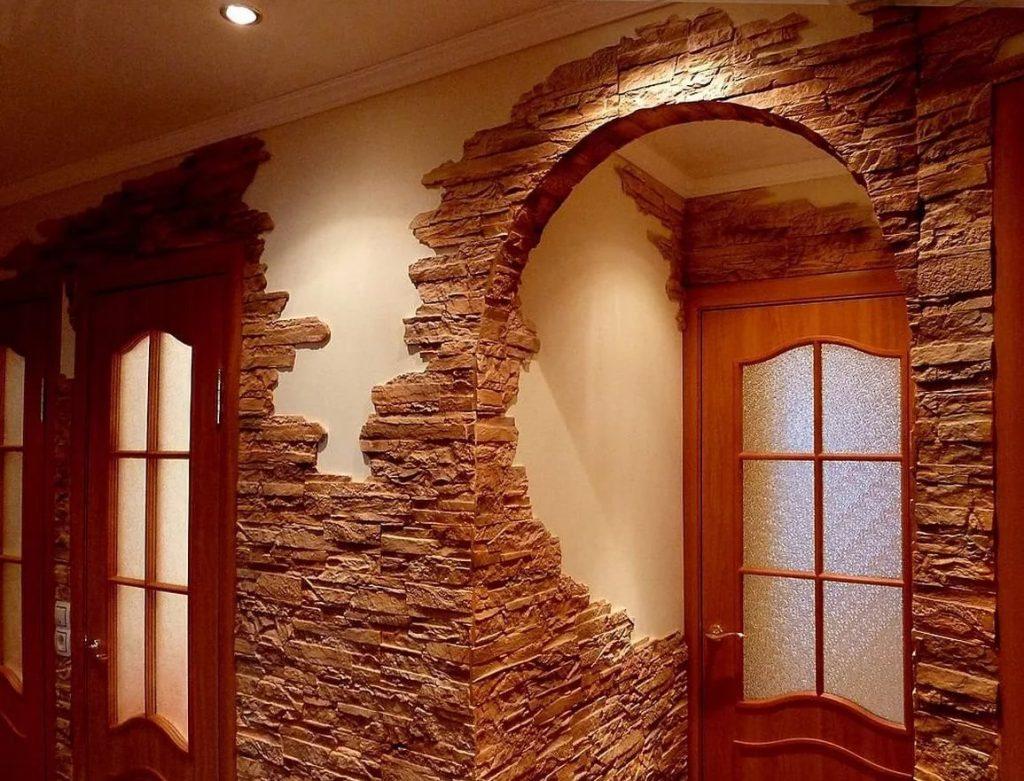 Красивые отделки стен фото