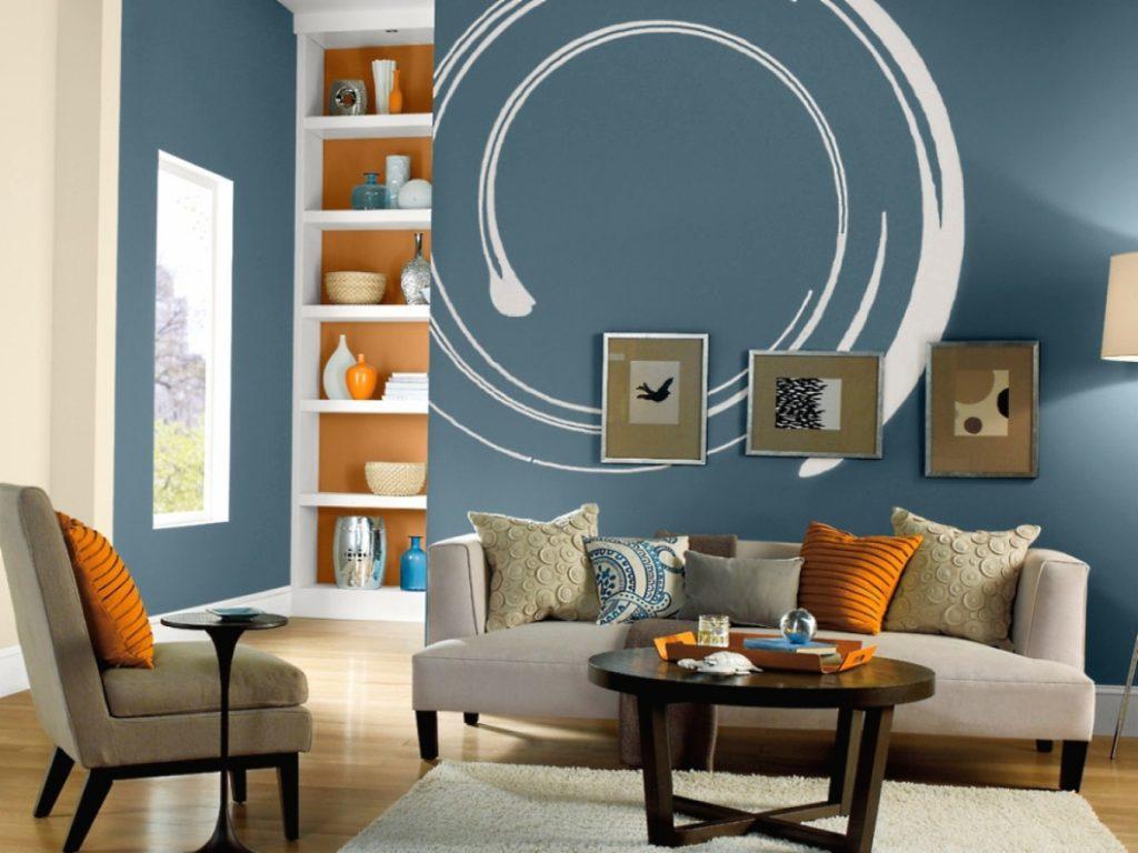 варианты покраски стен в доме фото знаменитая порода