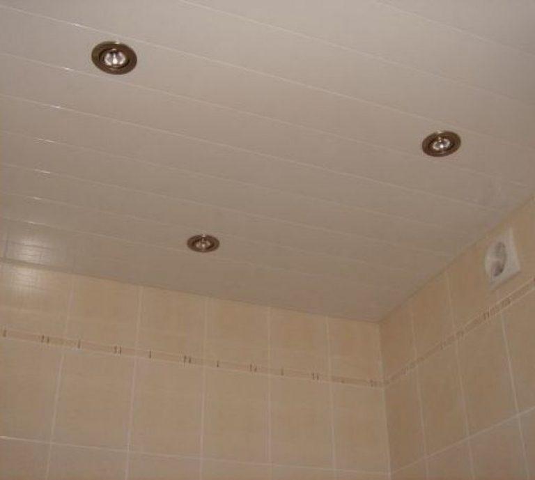 Навесной потолок для ванной в картинках