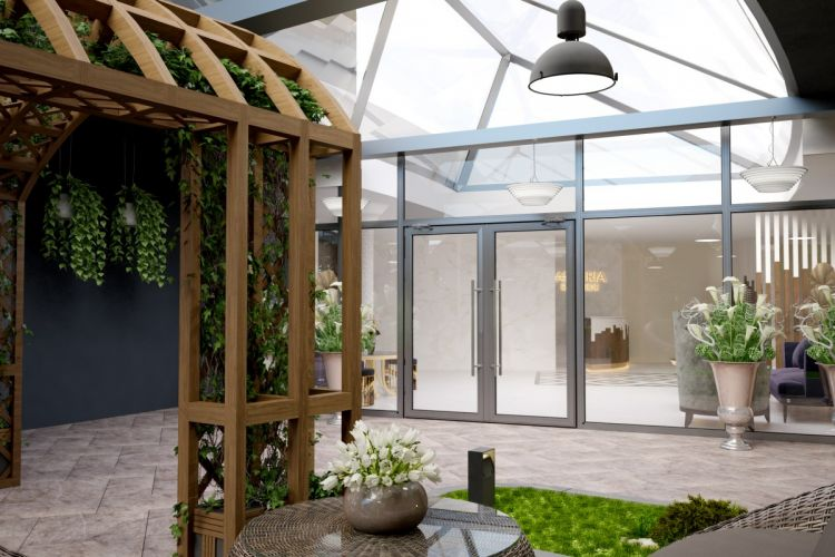 зимний сад в квартире видео