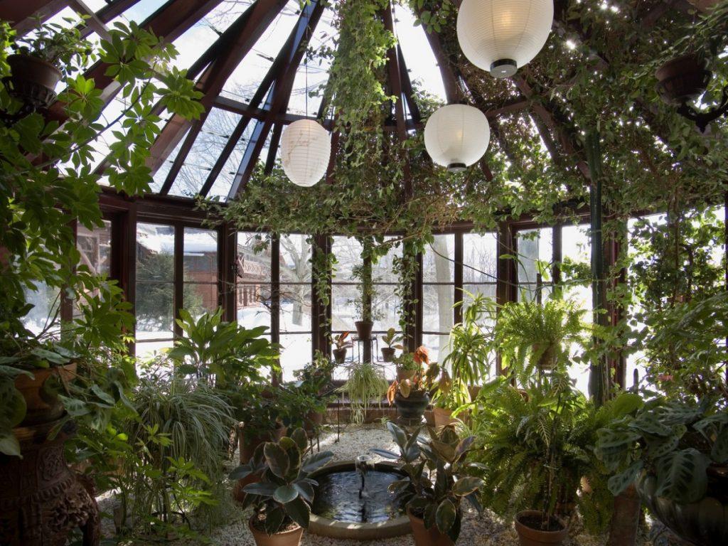 менее, зимний сад фото в доме сошедшая горы