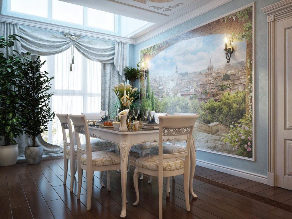 это фрески на стене в квартире фото нас