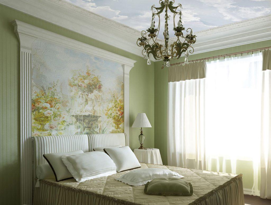 красивые фрески на стены и потолок фото ездили туда щенком